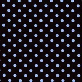 Fabric Dumb Dot Blue x 10cm
