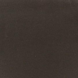 ♥ Coupon tissu 10 cm X 34 cm ♥ Jersey tubulaire bord-côte 1/1 marron