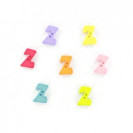 Button letter Z Color