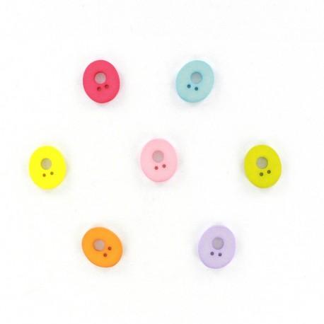 Bouton chiffre 0 Color