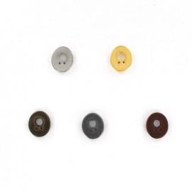 Button number Métallic 0