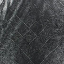 Simili cuir souple Damier x 10cm