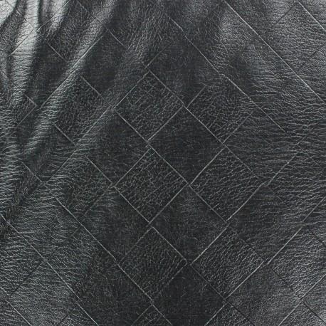 Faux soft leather Damier x 10cm