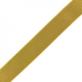 Two-tone woven strap x 50 cm - mustard/beige