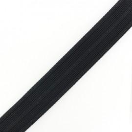 Cotton woven strap x 50 cm - black