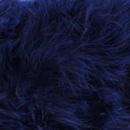 Swan Marabou x 50cm - navy blue