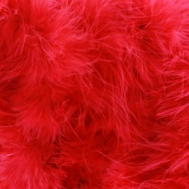 Swan Marabou x 50cm - red