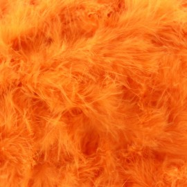 Marabout Cygne orange x 50cm