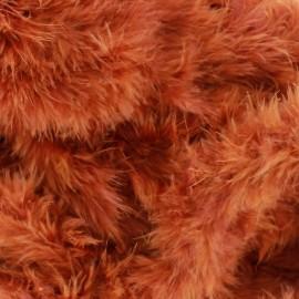 Marabout Cygne cuivre x 50cm