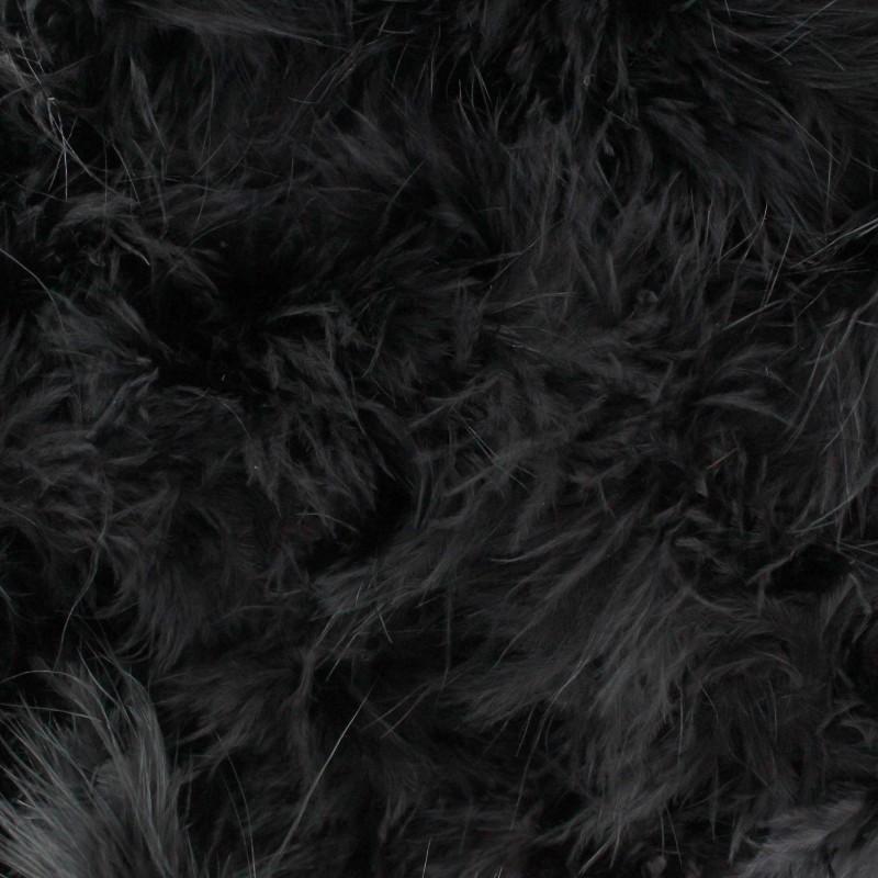 marabout cygne noir x 50cm ma petite mercerie. Black Bedroom Furniture Sets. Home Design Ideas