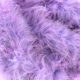 Marabout Cygne lilas x 50cm
