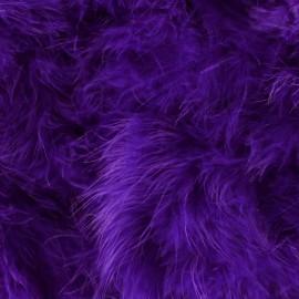 Marabout Cygne violet x 50cm