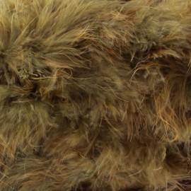 Marabout Cygne brun x 50cm