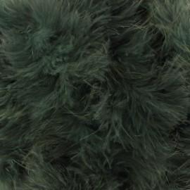 Marabout Cygne vert mousse x 50cm