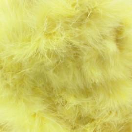 Marabout Cygne jaune poussin x 50cm