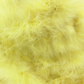 Swan Marabou x 50cm - canary yellow