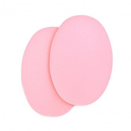 Sew-on Vinyl elbow patch - pink