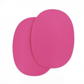 Sew-on Vinyl elbow patch - fuchsia