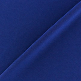 Self coloured Lycra fabric -  navy blue/mat finish x 10cm