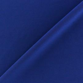 Tissu Lycra uni Bleu Navy foncé finition mat x 10cm