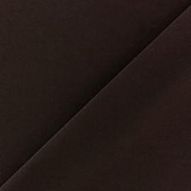 Tissu Lycra uni Marron finition mat x 10cm