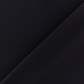 Self coloured Lycra fabric -  navy/mat finish x 10cm