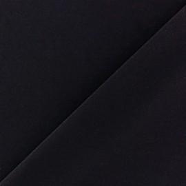 Tissu Lycra uni Bleu Marine finition mat x 10cm