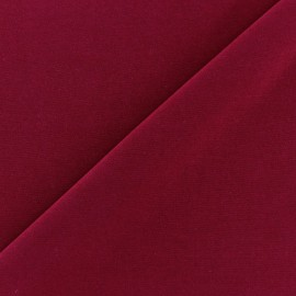 Self coloured Lycra fabric -  carmine/mat finish x 10cm