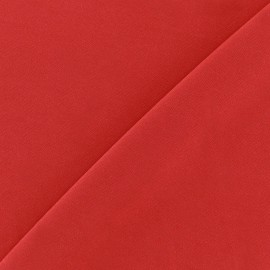 Self coloured Lycra fabric -  red/mat finish x 10cm