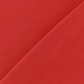 Tissu Lycra uni Rouge finition mat x 10cm