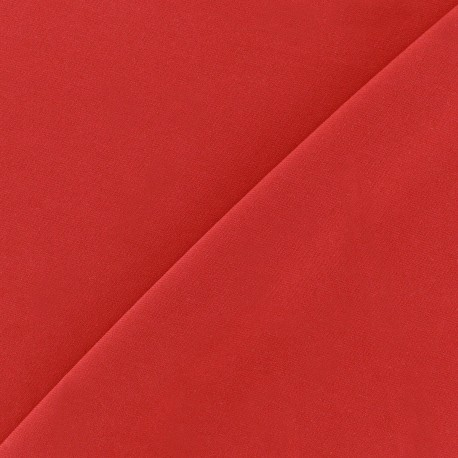 mat lycra fabric - red x 10cm