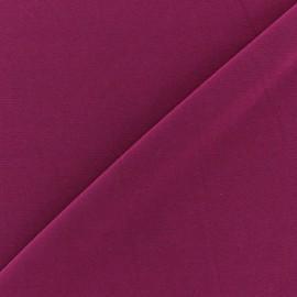 Tissu Lycra uni Violette finition mat x 10cm