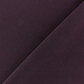 mat lycra fabric - dark purple x 10cm
