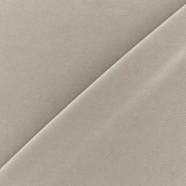 mat lycra fabric - beige x 10cm