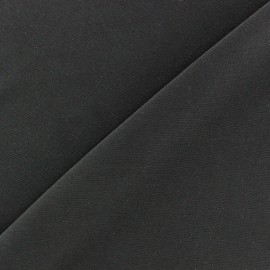 mat lycra fabric - anthracite x 10cm