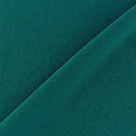 mat lycra fabric - peacock green x 10cm