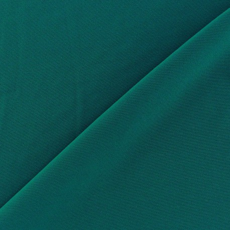 Tissu Lycra uni Paon finition mat x 10cm