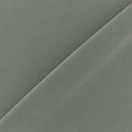 Tissu Lycra uni Grège finition mat x 10cm