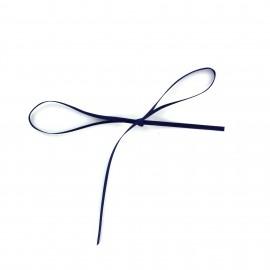 Comete Satin ribbon 3mm - navy blue
