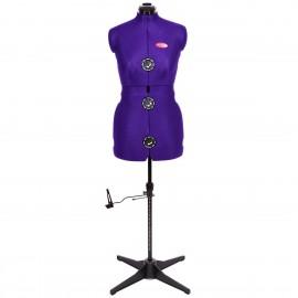 Mannequin de couture Prymadonna Violet taille S