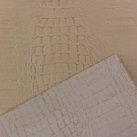 Croco Leather - Beige (2 sizes)