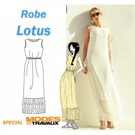 Patron Robe Lotus