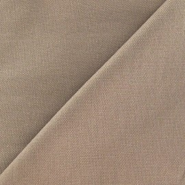 Cotton Canvas Fabric - CANAVAS Light Brown x 10cm