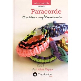 """Book """"Paracorde"""" - 25 créations complètement nouées"""
