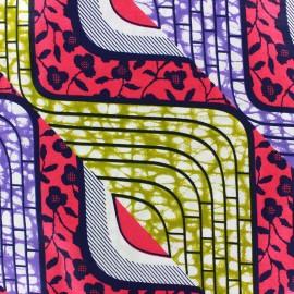 Tissu Wax Banjul x 10cm
