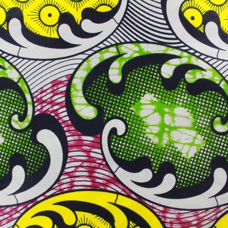 Wax print fabric Niamay x 10cm