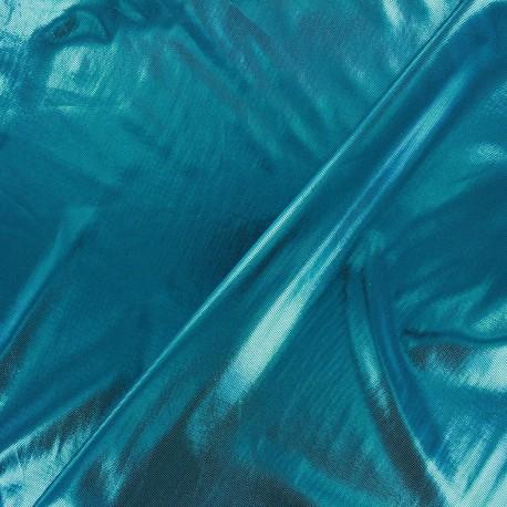 Tissu Lycra Party Lagon x 10cm