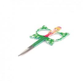 Ciseaux à Broder Angels Polly vert