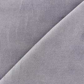 Corduroy 200 gr/ml fabric Melda - light purple x10cm