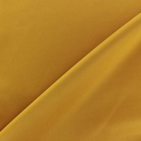Thick lycra fabric - mustard x 10cm